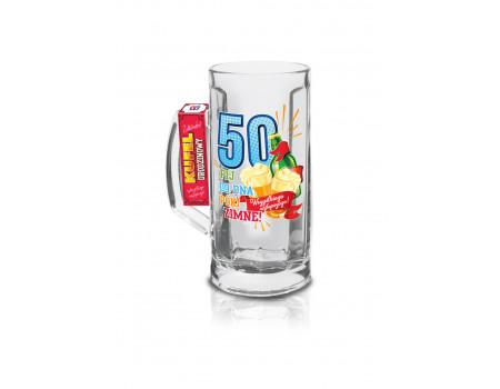 URODZINOWY LUZZZ - kufel Berna 500ml - 50