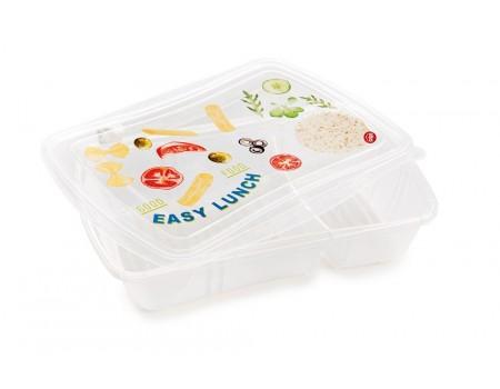 FRESH LUNCH - pojemnik na lunch z przegródkami 0,7L + 0,3L (kpl. 3 szt.) VINTAGE