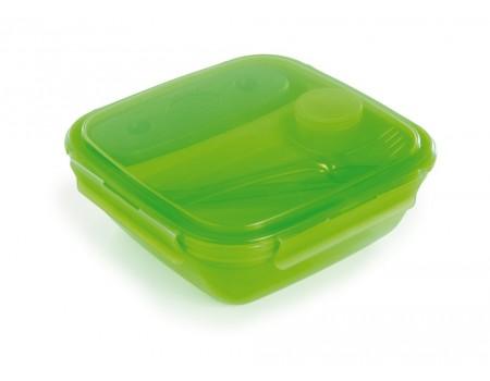 ENERGY - lunch box z wkładem chłodzącym 1,5L zielony