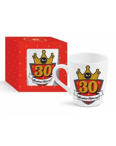 GOLD - kubek Baryłka 300ml - 30 urodziny