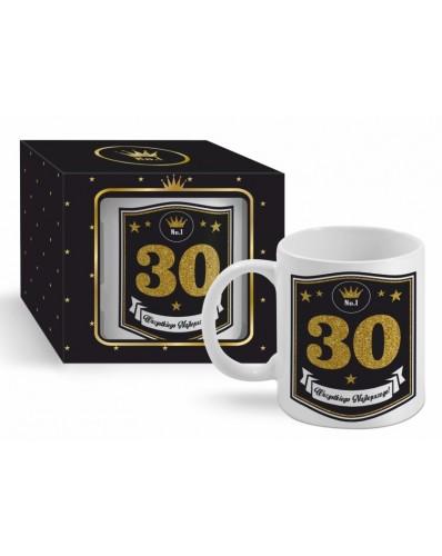 GOLD - kubek Boss 300ml - 30 urodziny