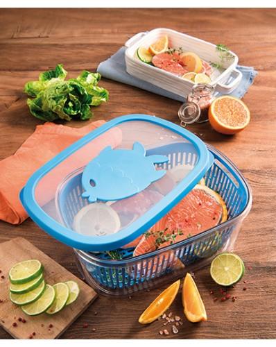 AROMA FISH - pojemnik do przechowywania ryb 4L