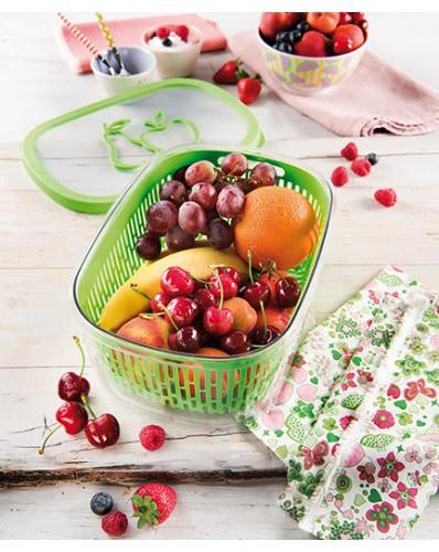 SNIPS AROMA FRUITS - pojemnik do przechowywania owoców 4L