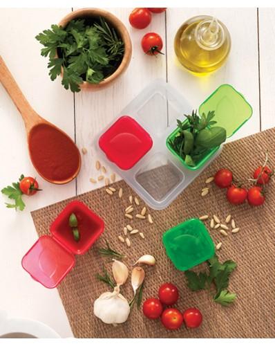 HERB BOX - pojemnik na zioła i sosy