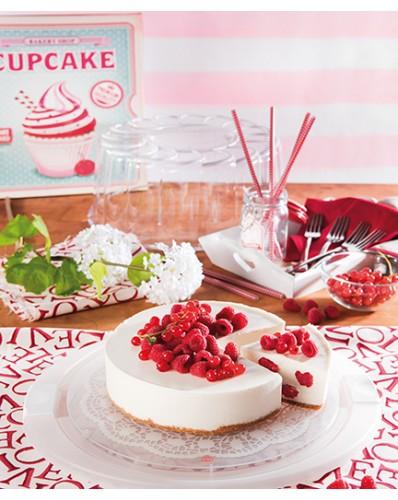 CAKE DESIGN - pojemnik na tort Ø 28cm biały