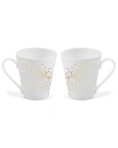 LaNova - zestaw 2 kubków Galaxy 300ml - cone magic (gold)