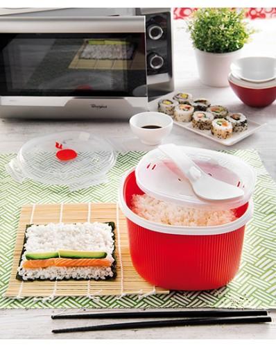 MICROWAVE - pojemnik do gotowania ryżu i kaszy 2,7L