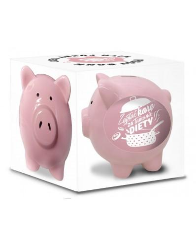 SKARBONKA świnka - ZAPŁAĆ KARĘ za łamanie diety