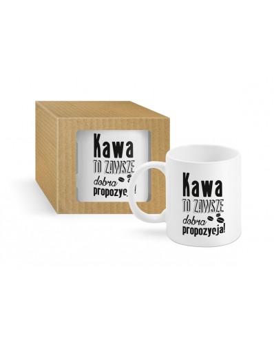 ECO - kubek Boss 300ml - Kawa to zawsze dobra propozycja