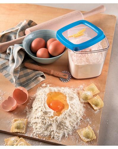 AROMA - pojemnik hermetyczny 1L mąka