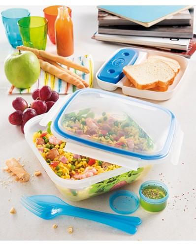 TAKE AWAY ICE - lunch box z wkładem chłodzącym 1,5L