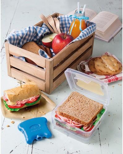 TAKE AWAY ICE - pojemnik na kanapki z wkładem chłodzącym 0,5L