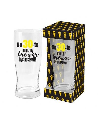 MĘSKI RESET - szklanka do piwa 500ml - 30