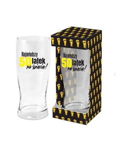 MĘSKI RESET - szklanka do piwa 500ml - 50