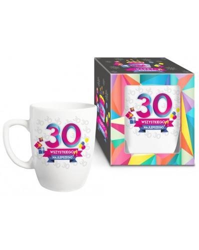 URODZINOWY XL - kubek Baryłka 750ml - 30 urodziny