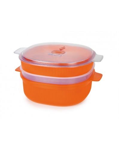 MICROWAVE - pojemnik do gotowania na parze 4L (Gift Box)