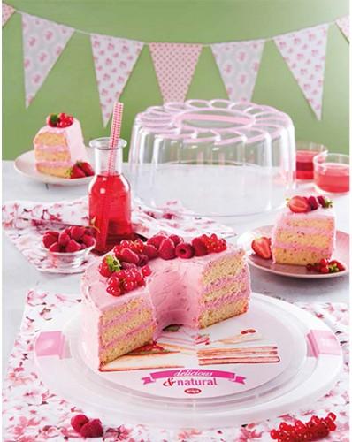 CAKE DESIGN - pojemnik na tort Ø 28cm VINTAGE