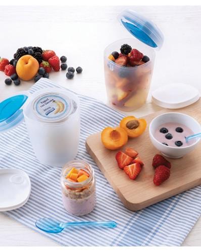TAKA AWAY ICE - pojemnik na jogurt z wkładem chłodzącym 0,5L