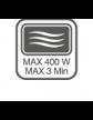 Produkt nadaje się do używania w mikrofalówce bez pokrywki przez 3min (400W)