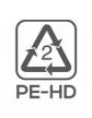 Materiał wykonania: polietylen (pokrywka)